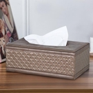 歐式面紙盒創意家用客廳茶幾抽紙盒大號紙抽盒車載可愛餐巾紙盒