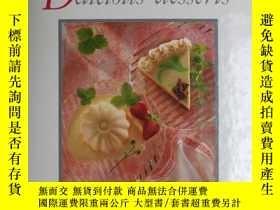 二手書博民逛書店英文原版西餐食譜:DELICIOU罕見DESSERTS (美味的甜點)Y6515 Patricia Bourn