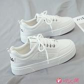 小白鞋 2021爆款新款小白潮鞋女冬季百搭學生帆布休閒運動白鞋板鞋潮 小天使
