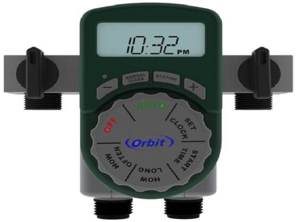 美國ORBIT四區段自動定時灑水器(一進四出含4個閥門)