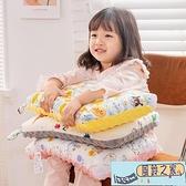 可水洗定型枕頭全棉兒童枕套豆豆絨四季通用幼兒2歲以上國小生專用超級品牌【風鈴之家】