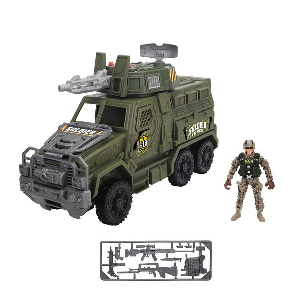 Soldier Force 戰術指揮車 玩具反斗城