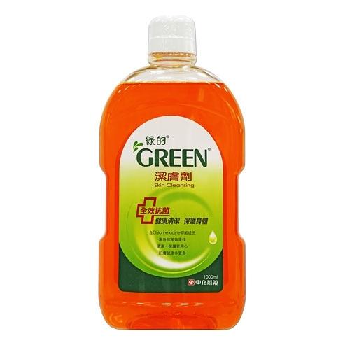 綠的潔膚劑1000ml【愛買】