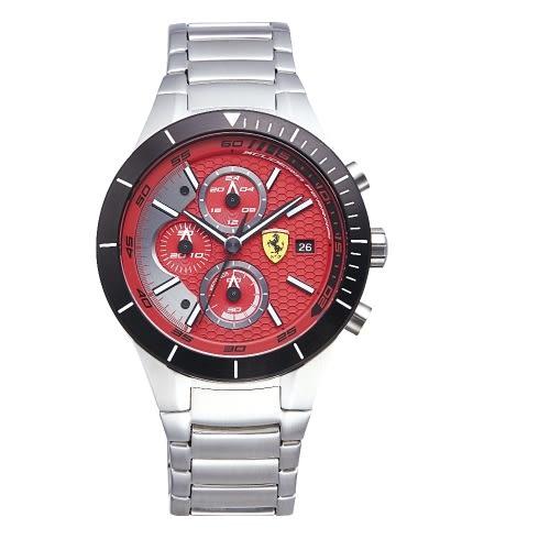 FERRARI速度感時尚鍊帶腕錶/0830269