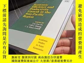 二手書博民逛書店Economic罕見Efficiency and Productivity Growth in the Asia-