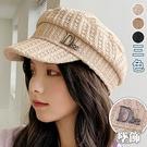 金屬字母徽章貝雷帽(3色)【995188...