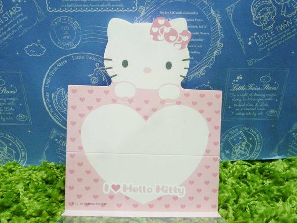 【震撼精品百貨】Hello Kitty 凱蒂貓~造型便條紙-粉臉造型-粉紅色【共1款】