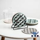 【6個裝】隔熱墊耐高溫硅膠防燙碗墊子廚房鍋墊盤墊【古怪舍】