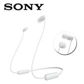 SONY無線藍牙入耳式耳麥WI-C200-W白