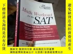 二手書博民逛書店Stock罕見Image Math Workout for th