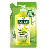 (箱購)茶樹莊園-茶樹海鹽超濃縮洗碗精補充包700gX12包
