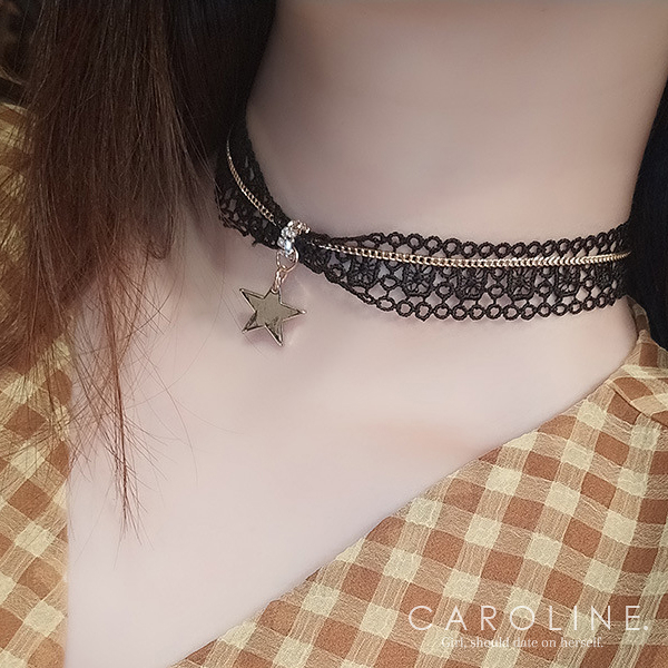 《Caroline》★韓國熱賣造型時尚品味、氣質、時尚 項鍊71199
