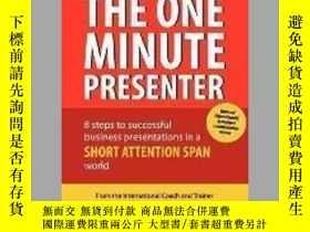 二手書博民逛書店The罕見One Minute PresenterY405706 Warwick John Fahy ISB