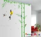 壁貼【橘果設計】竹林鳥 DIY組合壁貼 ...