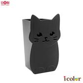 i color 日本製 貓臉造型直式小物收納筒