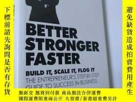 二手書博民逛書店Better罕見Stronger Faster Build it