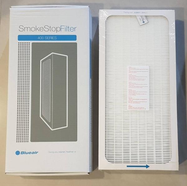 Blueair 400 系列 SERIES SmokeStop Filter 活性碳濾網 1入 ( 405 • 480i • 490i • 450E ) 產地:中國