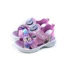 冰雪奇緣 Frozen Elsa Anna 涼鞋 電燈鞋 粉紫色 中童 FNKT14103 no768