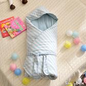 義大利Fancy Belle《斯卡線曲-綠》色坊針織兒童包巾兩用被(90*90CM)