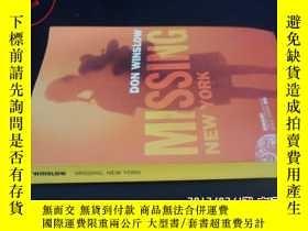 二手書博民逛書店WINSLOW罕見MISSING.NEW YORK5919