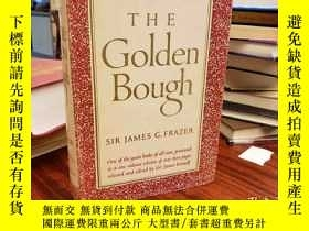二手書博民逛書店The罕見Golden Bough, A Study in Ma