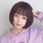 整頂假髮(長髮)-真髮公主切內彎空氣瀏海女假髮2色73vs37[巴黎精品]