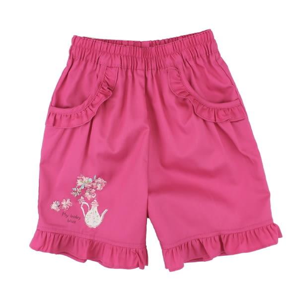 【愛的世界】鬆緊帶純棉短褲/3歲-台灣製- ★春夏下著 夏殺2折起