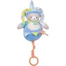 法國娃娃DOUDOU 藍綠 圈圈貓音樂鈴(18cm)