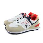 NEW BALANCE 574系列 跑鞋 運動鞋 卡其/白色 男鞋 ML574SCG-D no759