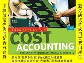 二手書博民逛書店罕見Principles of Cost Accounting