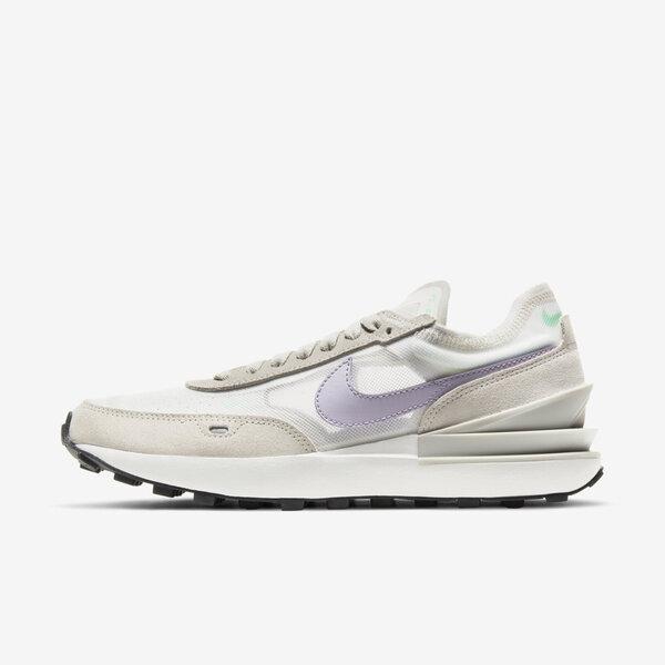 Nike Wmns Waffle One [DC2533-101] 女鞋 運動休閒 復古 小Sacai 平民版 灰 紫