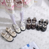 娃娃鞋 仙女風lolita洛麗塔鞋子lo日系蘿莉演出jk小皮鞋英倫風制服單鞋女-10週年慶