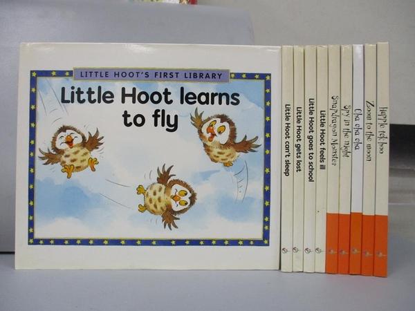【書寶二手書T4/少年童書_CGU】Little Hoot Learns to fly_Hupple tck hoo等_共10本合售