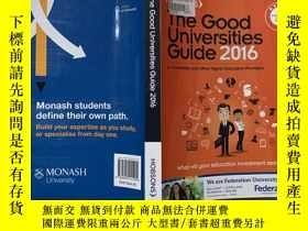二手書博民逛書店THE罕見GOOD UNIVERSITIES GUIDE 201