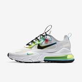 Nike Air Max 270 React Ww [CK6457-100] 男鞋 運動 慢跑 籃球 緩震 穿搭 白 黑