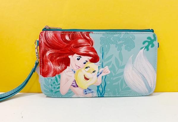 【震撼精品百貨】The Little Mermaid Ariel_小美人魚愛麗兒~手機袋-美人魚與比目魚#50035