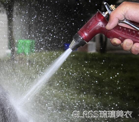高壓洗車水搶澆花洗車水槍頭水管軟管套裝家用汽車噴頭igo 琉璃美衣