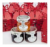 *幸福朵朵*╯【鏤空囍字喜糖盒+英國TIPTREE小果醬100份】-送客禮/婚禮小物批發