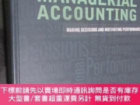 二手書博民逛書店Managerial罕見Accounting: Making Decisions and Motivating P