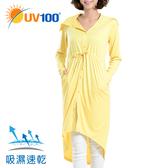 UV100 防曬 抗UV-速乾口鼻防護連身罩衫-前後兩穿