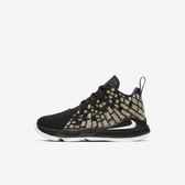 Nike Lebron Xvii (ps) [BQ5595-004] 中童鞋 籃球 運動 氣墊 時尚 親子 穿搭 黑 白