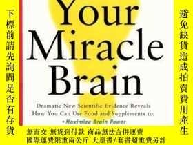 二手書博民逛書店Your罕見Miracle BrainY364153 Jean Carper Harpercollins 出