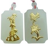 金鑲玉項鍊 和闐玉吊墜-精美別緻生日情人節禮物男女飾品2款73gf81【時尚巴黎】