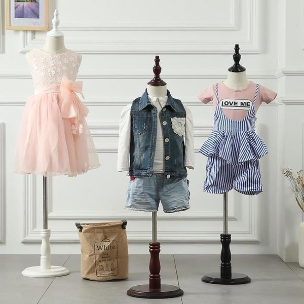 服裝店兒童包布模特道具半身櫥窗展示全身童裝小孩模特架2468歲