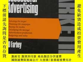 二手書博民逛書店how罕見to produce successful adver