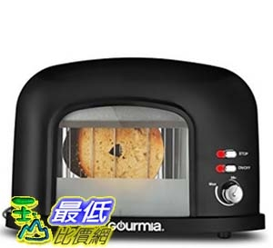 [美國直購] Gourmia GWT230 烤麵包機 - 2 Slice Motorized Toaster With See Through Window