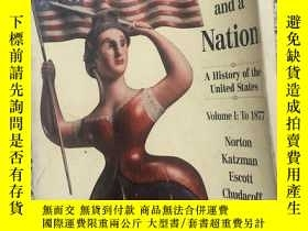 二手書博民逛書店a罕見people and a nation a history
