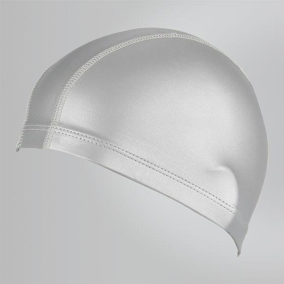 【線上體育】SPEEDO 成人 合成泳帽 Ultra Pace 銀