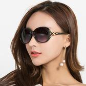 女新款太陽眼鏡個性女士墨鏡韓國復古圓臉潮流行圓形  無糖工作室