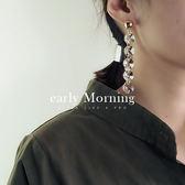 ✡歐美版✡ early Morning -  壓克力寶石 時尚走秀款耳環 歐美版【CC048】